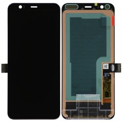 For Google Pixel 4 LCD Screen Black