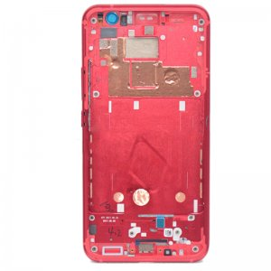 HTC U11 Front Housing Red Ori