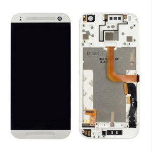 HTC One mini 2 LCD Screen With Frame White