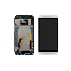HTC One (E8) LCD Screen With Frame White