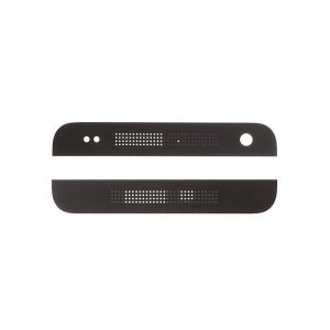 HTC One M7 Top Cover & Bottom Cover Black