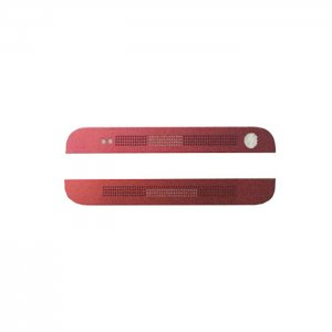 HTC One M7 Top Cover & Bottom Cover Red