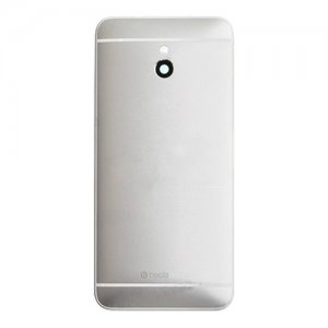 HTC One mini Battery Door Back Cover Silver
