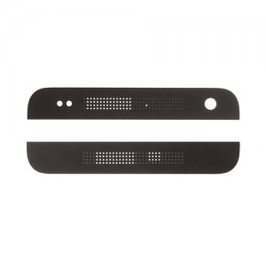 HTC One mini Top and Bottom Cover Black