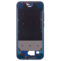 For Huawei Honor 10 Front Frame Blue