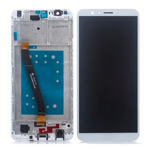 Huawei Honor 7X LCD Screen With Frame White