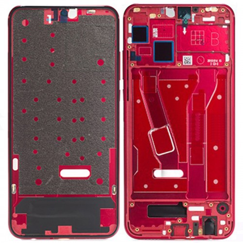 Honor 8X Front Housing Red Ori