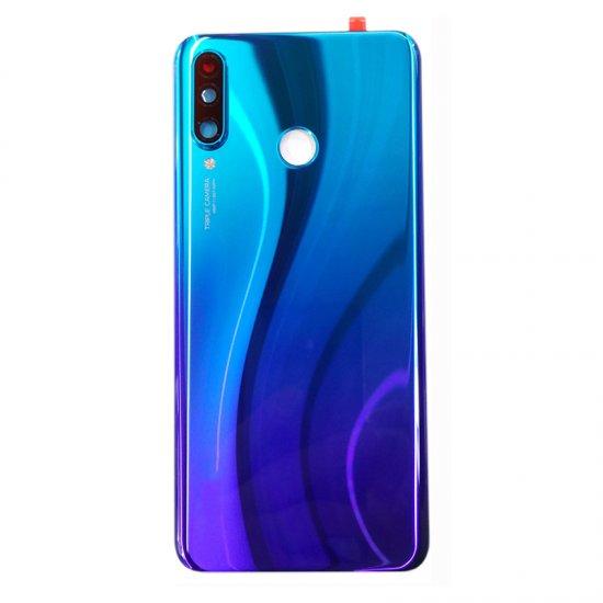 Huawei P30 lite Battery Door With Camera Lens Blue Ori