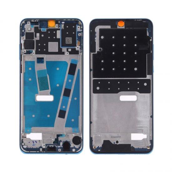 Huawei P30 lite Front Housing Blue Ori