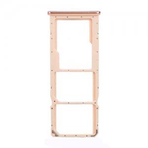 Huawei Y9 (2019) SIM Card Tray Pink Ori
