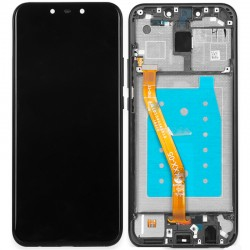 Huawei Mate 20 Lite LCD Screen Replacement With Frame Black Ori (Without Logo)