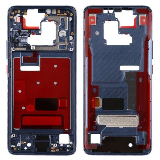 Huawei Mate 20 Front Housing Blue Ori