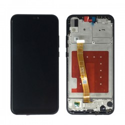 Huawei P20 Lite/Nova 3e LCD With Frame Black Original