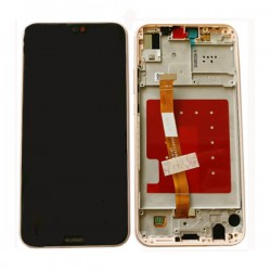 Huawei P20 Lite/Nova 3e LCD With Frame Pink Original