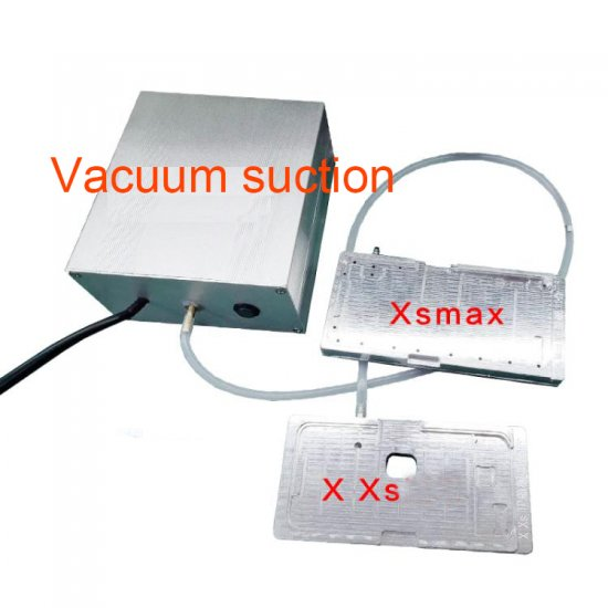 For iPhone X/XS/XS MAX/11/11 Pro/11 Pro Max LCD Touch Unbend Flex Cable Positioning Mold and Vacuum Pump