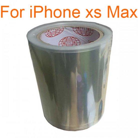 500pcs Front Screen Anti-Static Protector Refurbishment Film for iPhone XS Max
