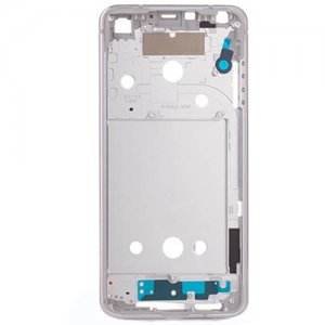 LG G6 Middle Frame Silver Ori