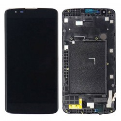 LG K7 (2017) LCD Screen With Frame Black Ori