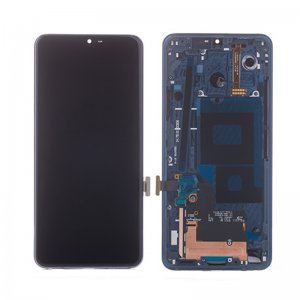 LG G7 ThinQ LCD Screen With Frame Blue