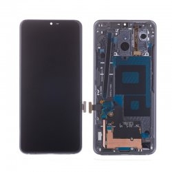 LG G7 ThinQ LCD Screen With Frame Gray