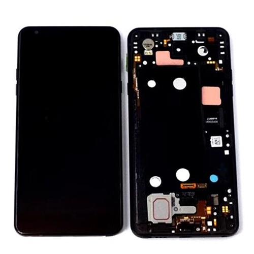LG Q Stylo 4 LCD Screen with Frame Black Ori
