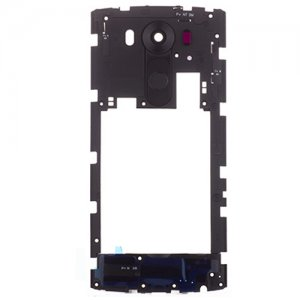 LG V10 Middle Frame With Small Parts Black Ori