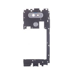 LG V20 Back Frame With Small Parts Silver Original