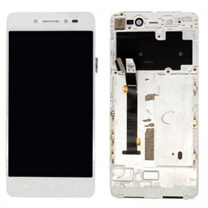 Lenovo S90 LCD Screen With Frame White Ori