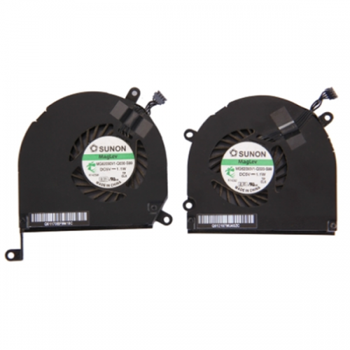 """One Pair for Macbook Pro 15.4"""" (2009 - 2012) A1286 Cooling Fans (Left + Right)"""