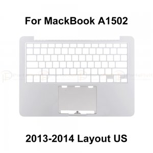 Top Case for Macbook Retina Pro A1502 Layout US  2013-2014