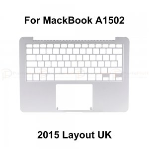 Top Case for Macbook Retina Pro A1502 Layout UK  2015
