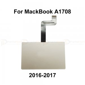 "For Macbook 2016 New Pro 13"" A1708 Trackpad with Flex Cable (2016-2017) Silver"