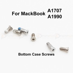 A1707 A1990 Bottom Case Screws