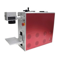 For iPhone 8 and Up Models Back Glass Laser Remover Machine Fiber Laser Marking Machine