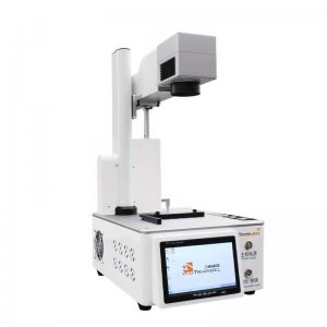 Mini Laser Ingraving and Back Glass Removal Laser Marking Machine Build in Computer #MT PG oneS