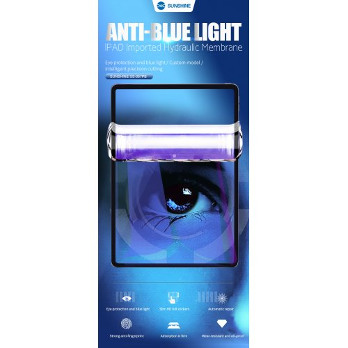 Sunshine SS-057PB iPad Anti-Blue Light Imported Hydrogel Film For Sunshine SS-890C Cutting Machine 20Pcs/Pack