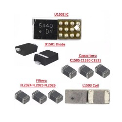 Backlight IC Capacitor C1505 C1530  C1531 for iPhone 6/6 Plus