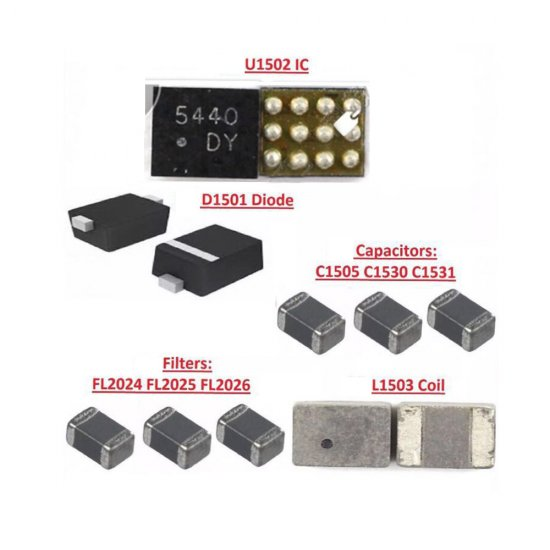 Backlight IC Coil L1503 for iPhone 6/6 Plus
