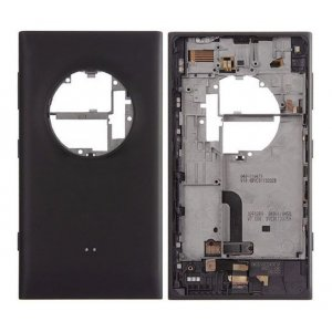 Nokia Lumia 1020 Battery Door With Small Parts Black Ori