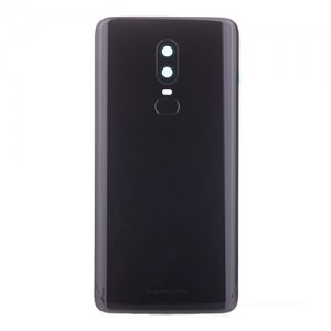 for OnePlus 6 Battery Door Mirror Black