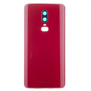 for OnePlus 6 Battery Door Red