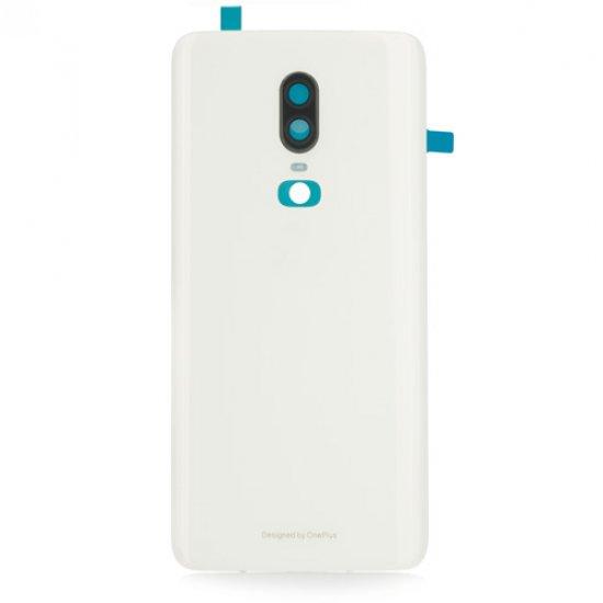 for OnePlus 6 Battery Door White