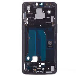 for OnePlus 6 Front Housing Midnight Black Ori