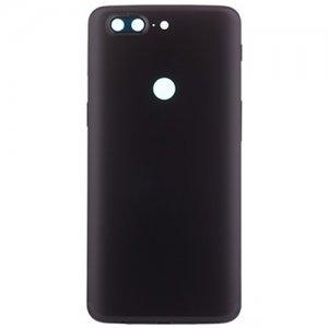 OnePlus 5T Battery Door Black Ori
