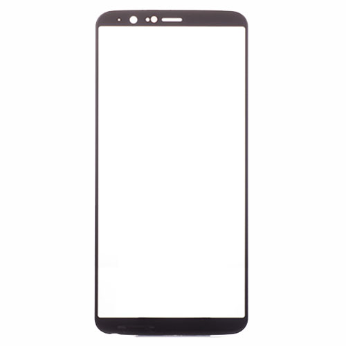 OnePlus 5T Glass Lens  Black Aftermarket