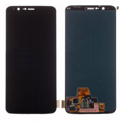 OnePlus 5T LCD with Digitizer Assembly  Black Refurbished(Changed glass)