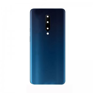 For OnePlus 7 Pro Battery Cover With Camera Lens Blue Original