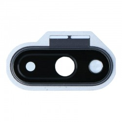 For OnePlus 7 Camera lens with Frame Black