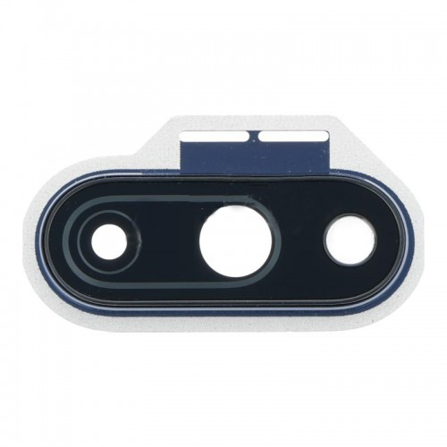 For OnePlus 7 Camera lens with Frame Blue