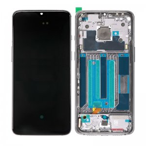 For OnePlus 7 LCD with Frame Black